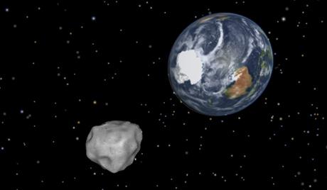 直径3kmの小惑星接近中!!