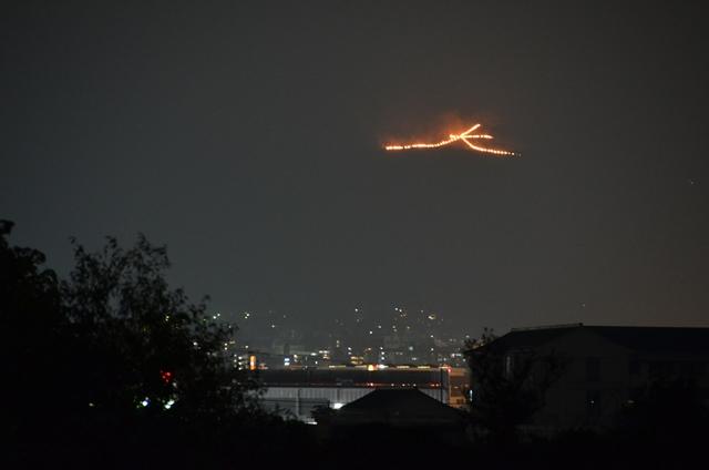 奈良観光 奈良の大文字送り火